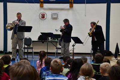 VSO trio performs in Fletcher