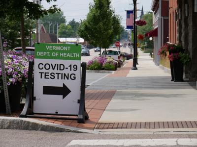 COVID-19 Testing Site, St. Albans City, 2020 (copy) (copy)