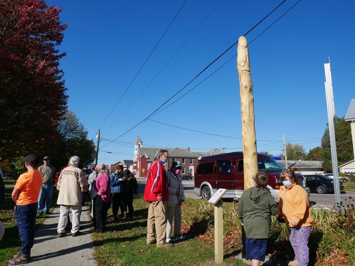 Totem Pole, Abenaki Nation of Missisquoi, Swanton, 10-13-2020