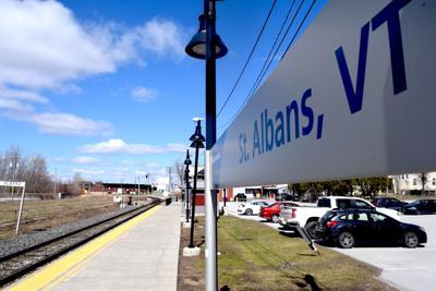 Amtrak sign