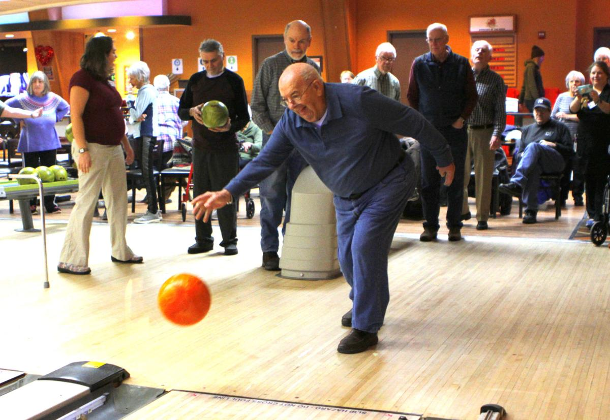 Local seniors roll with adaptive bowling balls