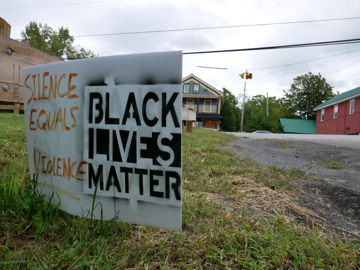 Black Lives Matter sign, Fairfax, 9-1-2020