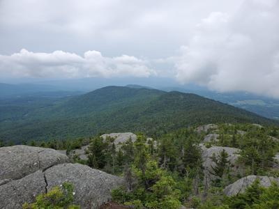 Mt. Hunger and White Rock Mountain