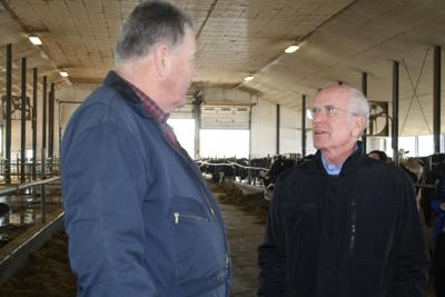 Welch hears from local dairy operators