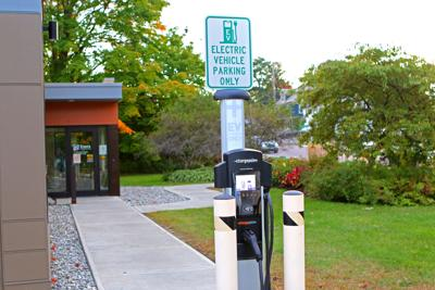 Electric vechile charging station