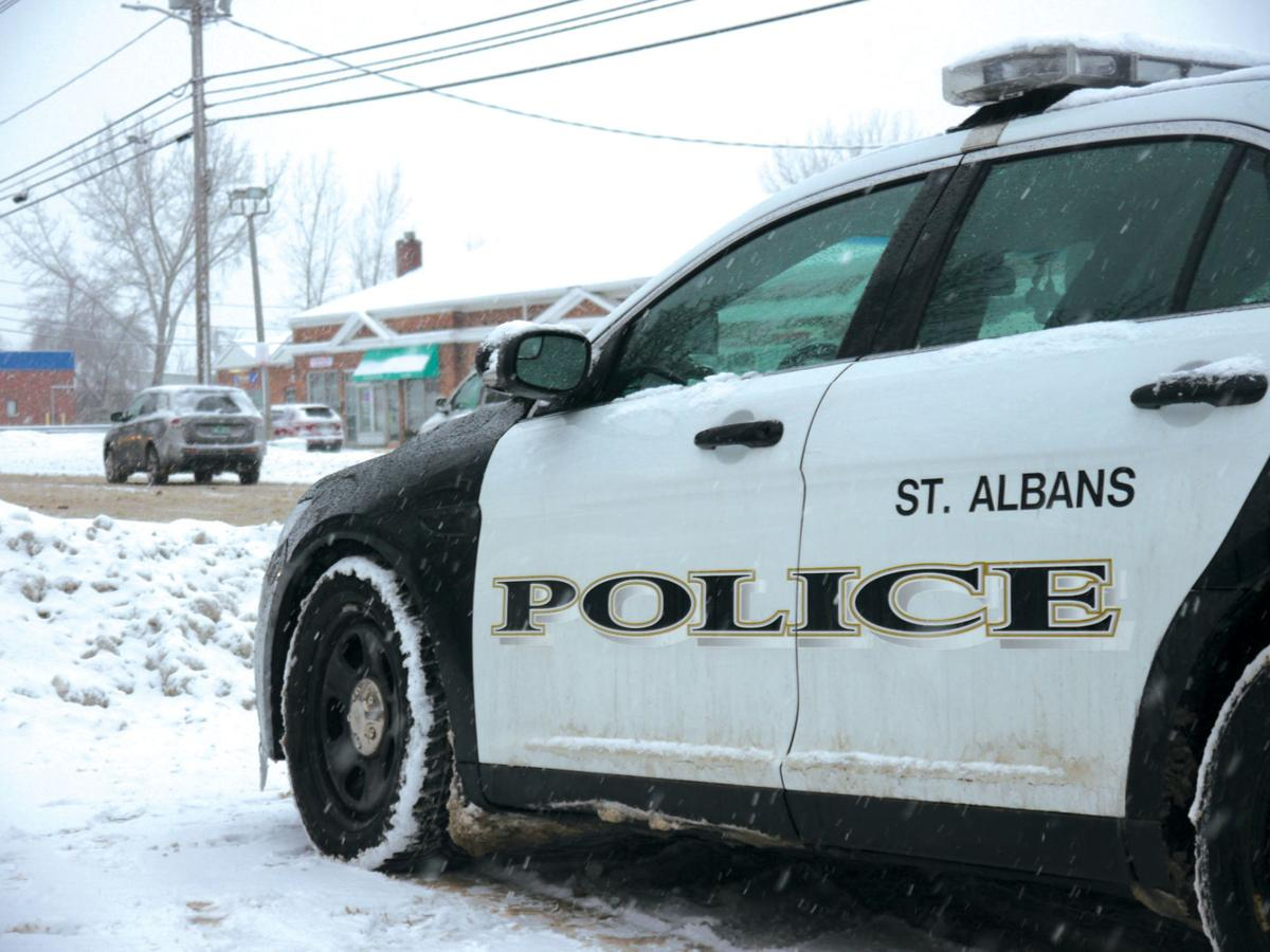 St. Albans Police Dept. Cruiser, 2-28-2020