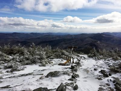 Mount Abe Summit - Winter