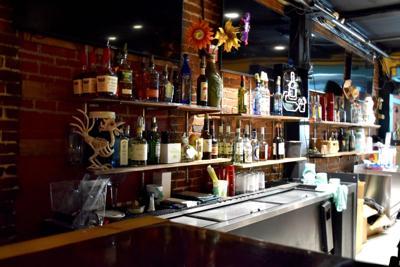The bar at The Depot