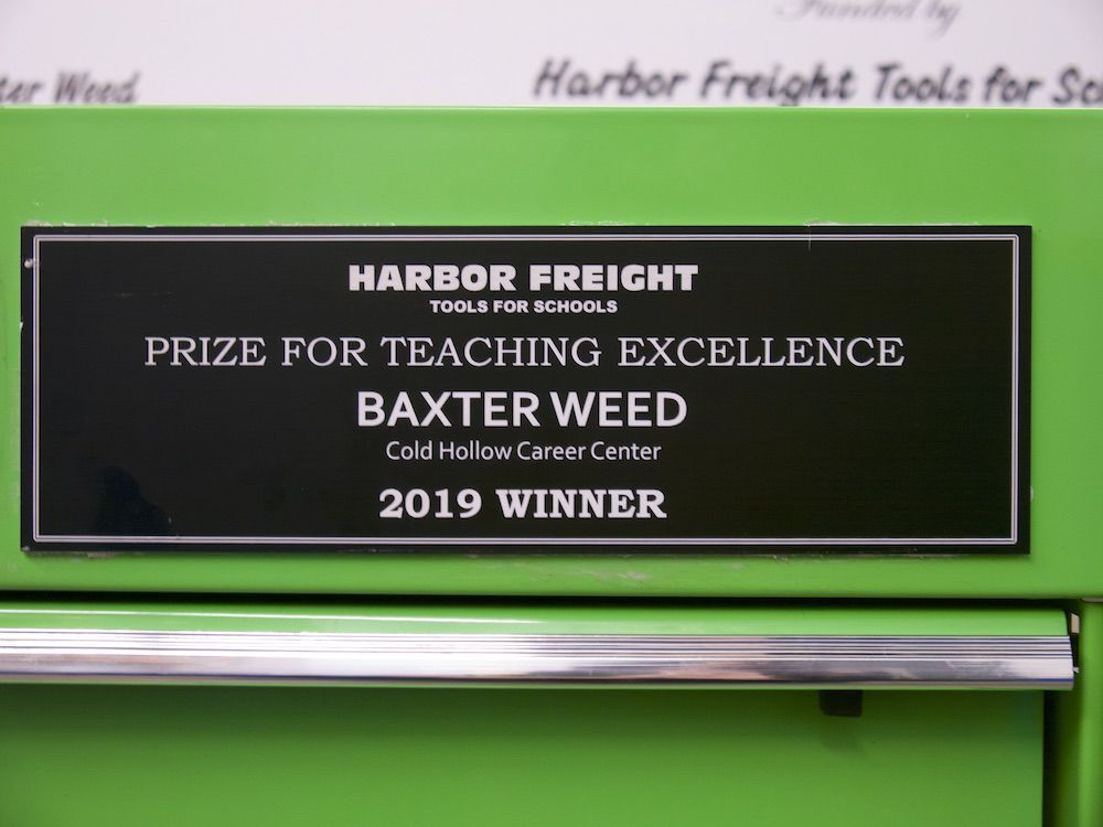 Weed recognized, 10-25-2019