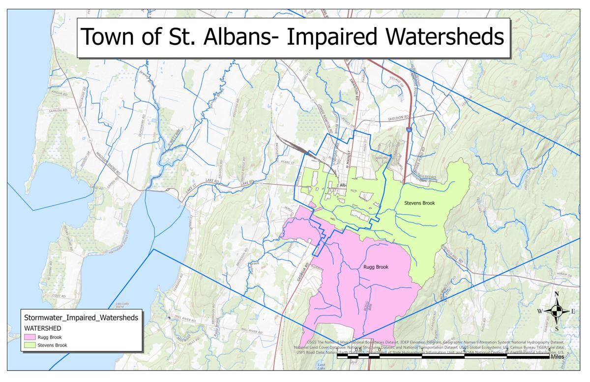 St. Albans Town's impaired watersheds