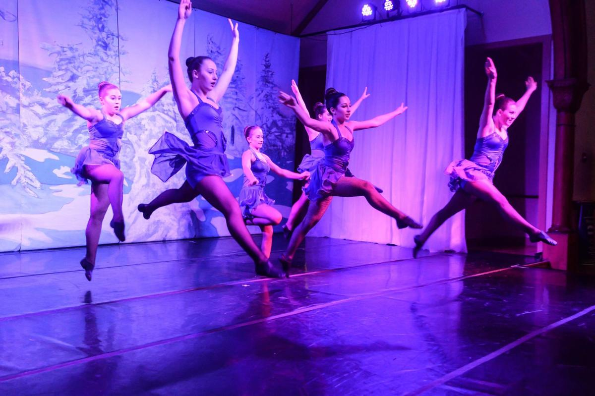 Dancers at the Festival of Trees by George Ouellette