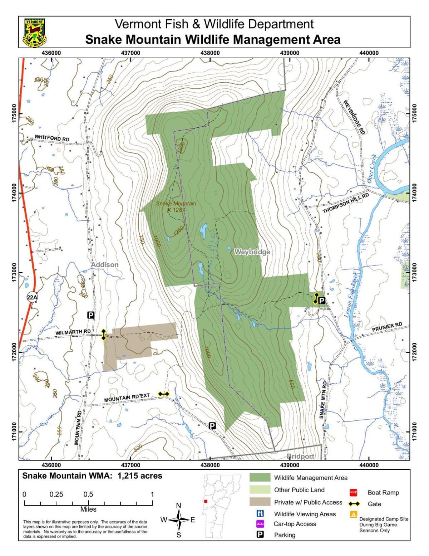 Snake Mountain Wildlife Management Area