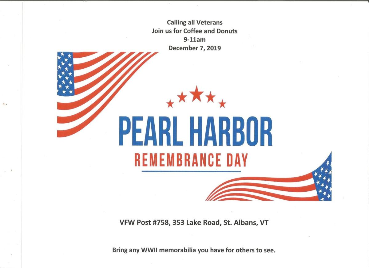 Pearl Harbor Day Flyer