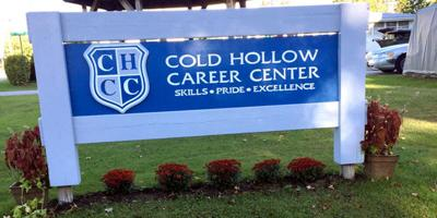 Cold Hollow Career Center sign 2021
