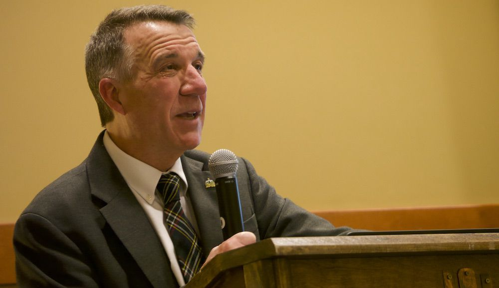 Gov. Phil Scott at the Northern Tier Dairy Summit, 4-1-2019