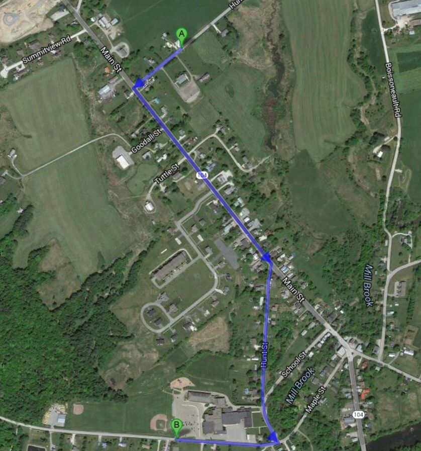 Fairfax Fourth of July Parade Route 2021