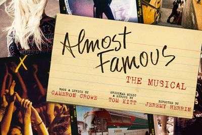 "Hot Ticket: ""Almost Famous"" Debuts at The Old Globe"