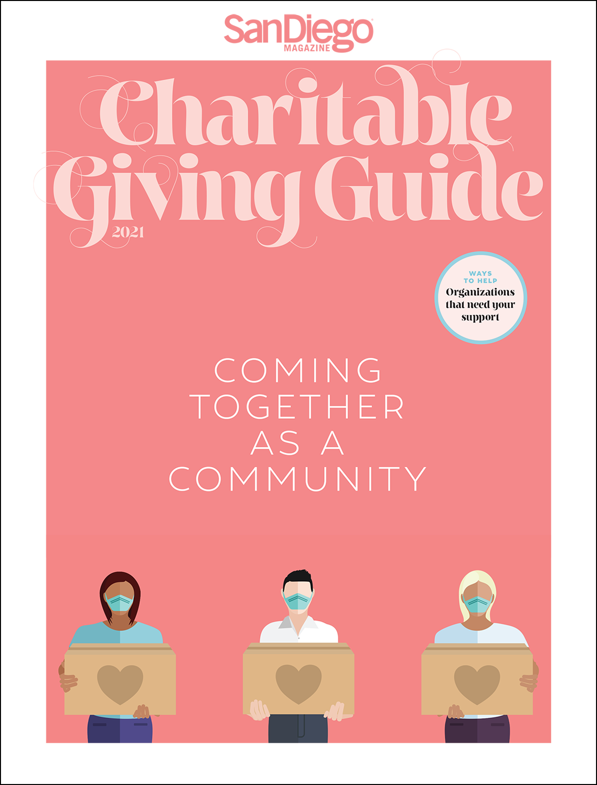 Current issue of Charitable Giving Guide