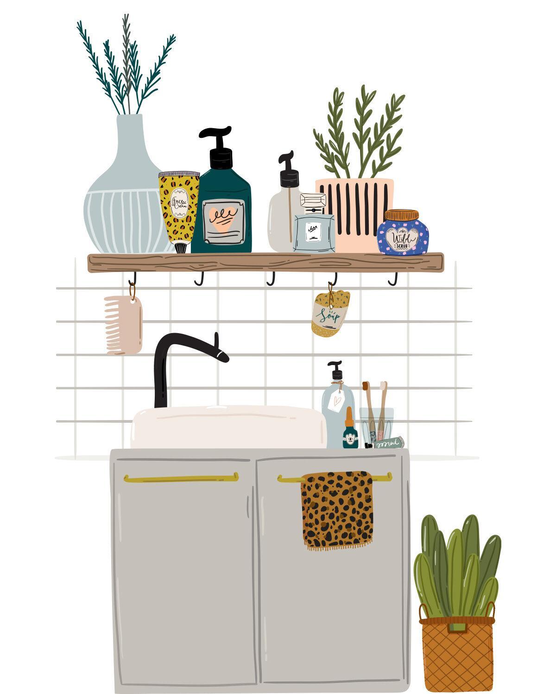Home Organizing / Illustration