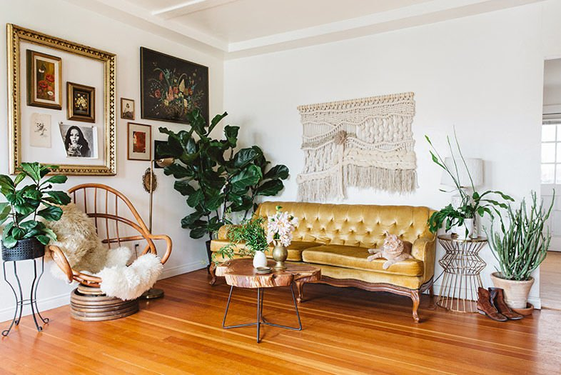 Inside the Funky, Eclectic Home of Rachael Lunghi