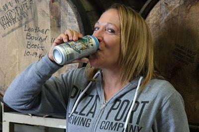 Meet Gina Marsaglia, 'The Godmother of San Diego's Beer Scene' and CEO of Pizza Port