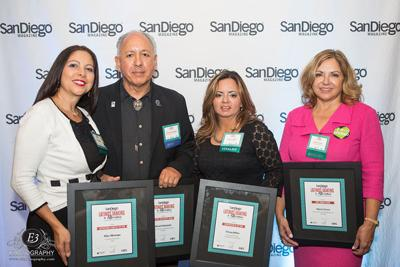San Diego Magazine names the 2014 Latinos Making a Difference award recipients