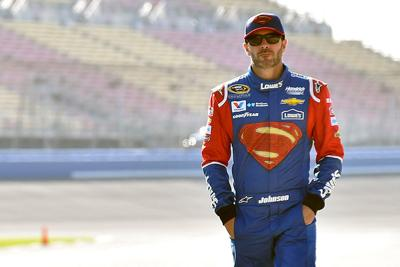 Local NASCAR Hero Jimmie Johnson Looks toward Daytona