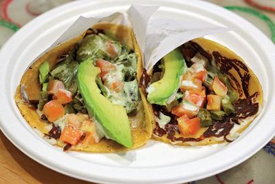 Very Important Taco: Nopal Taco at The Taco Stand