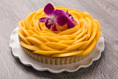 Sweet Spot: Mango Tart at Urban Plates