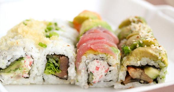 Everyday Eats: 4 x 4 Sushi Combo at Sushi Deli 2