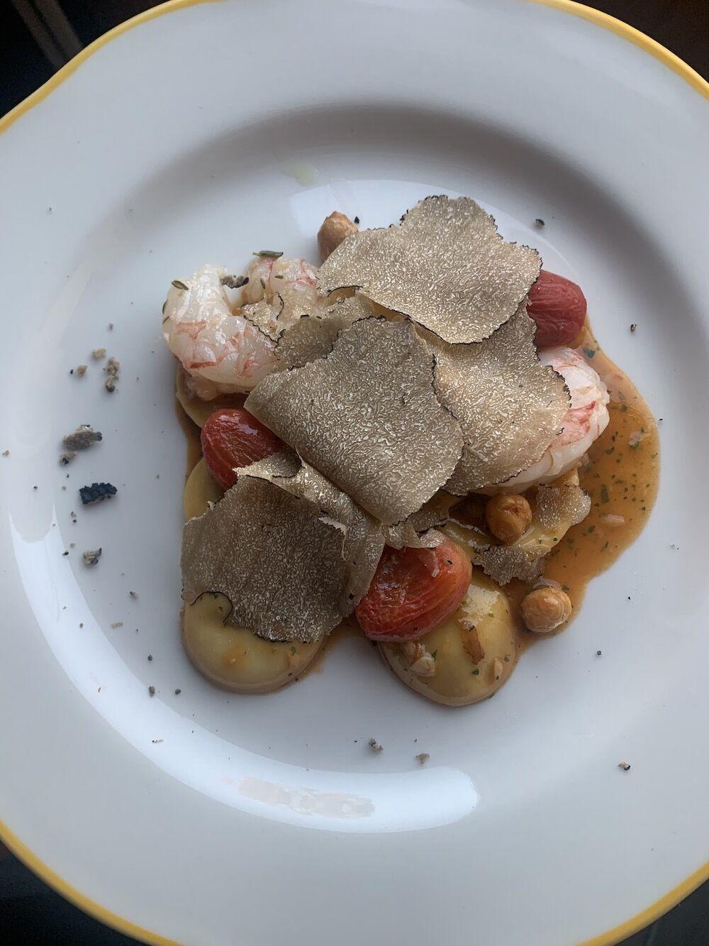 3 Dishes - ravioli