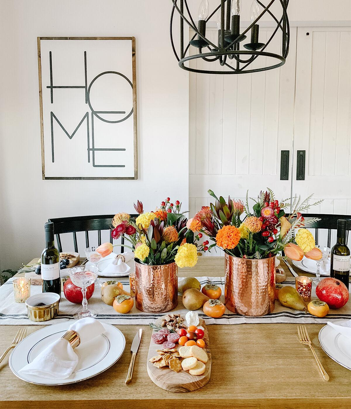 Fall Tablescapes / Autumn Bounty