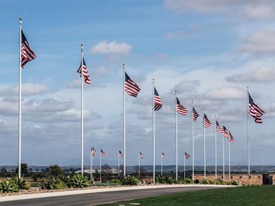 Veterans Day / Miramar National Cemetery