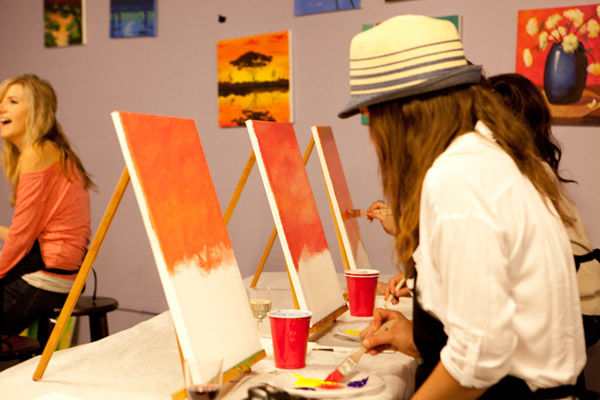 Explore San Diego's Art Scene with Music and Painting Classes