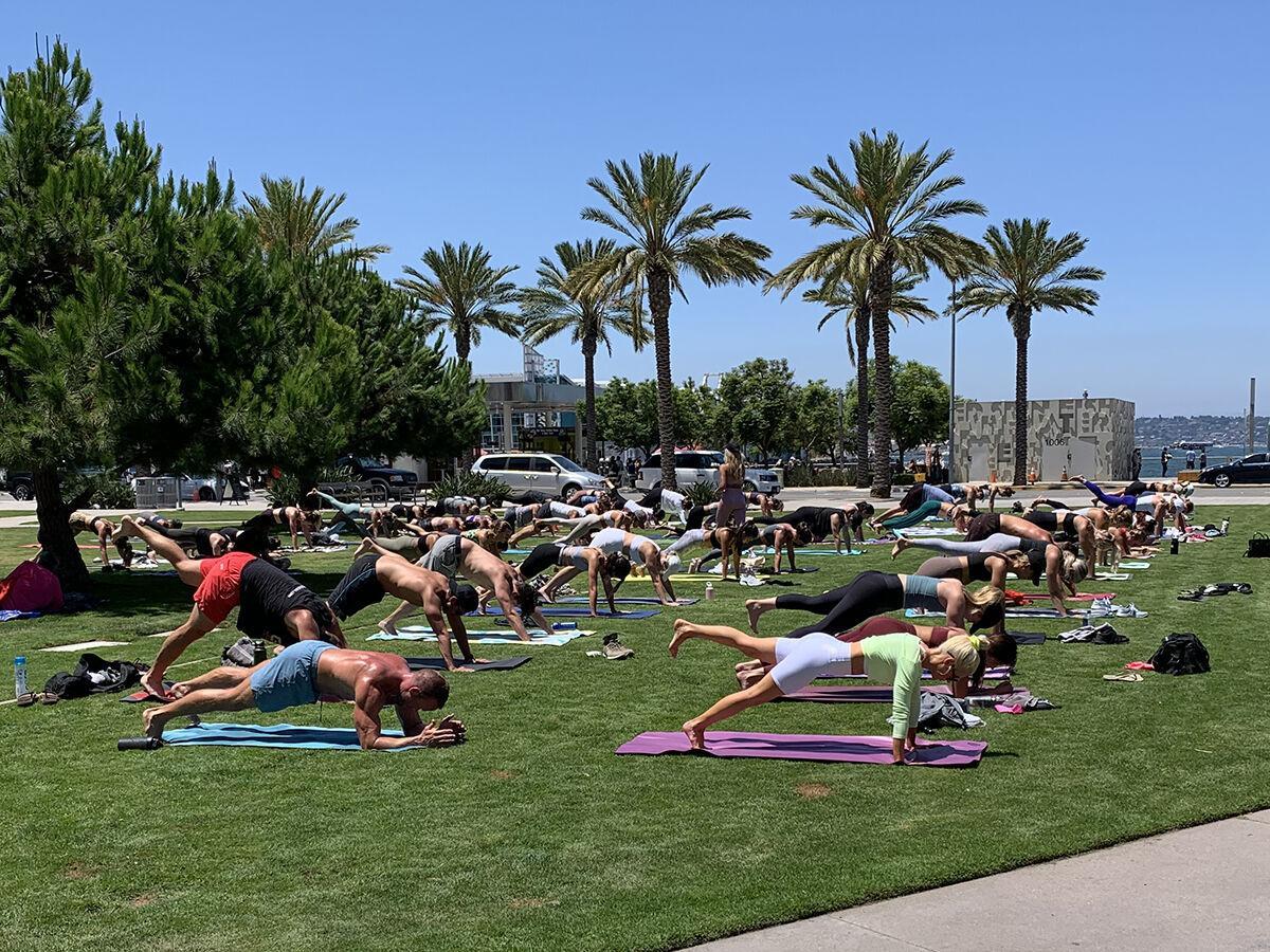 Outdoor Workouts / Salt Hot Pilates