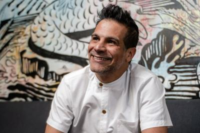 We reveal to chef Angelo Sosa that Death by Tequila is on the cover of Best Restaurants