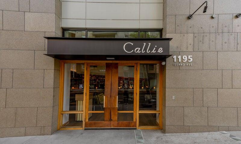 Callie - outside