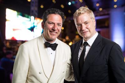 Symphony at Salk Featured Guest Artists John Pizzarelli and Chris Botti