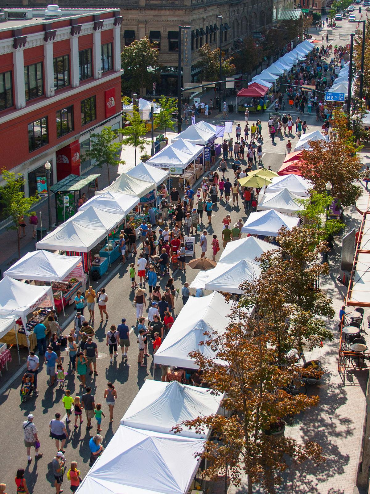 Three Days in Boise / Capital City Public Market