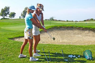 18 Holes With Tina Mickelson: Golf Lessons for Women