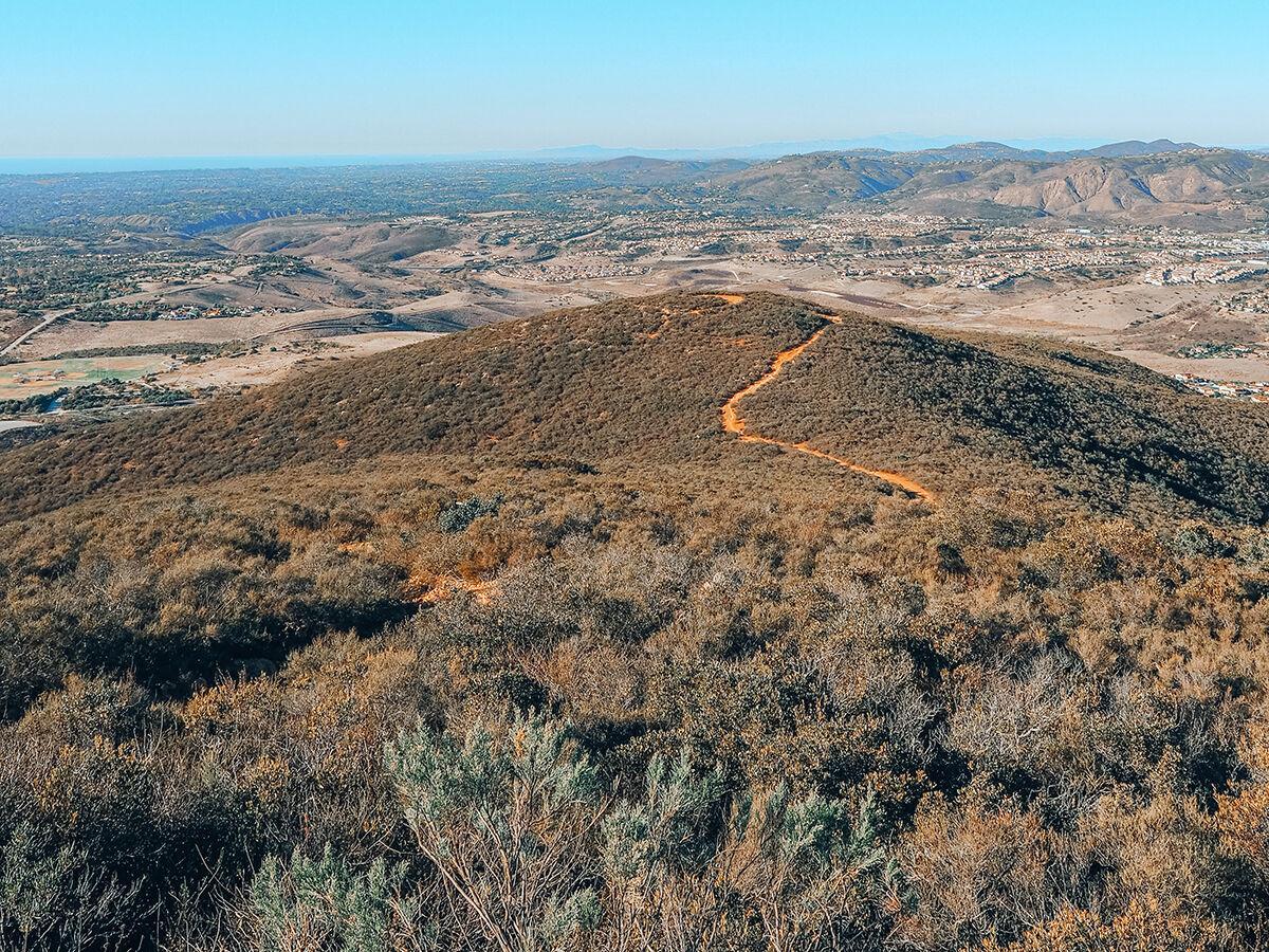 Scenic Trails / Black Mountain Open Space Park