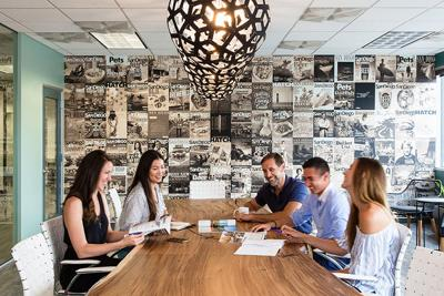 San Diego Magazine's Downtown Offices Get a Stylish Overhaul