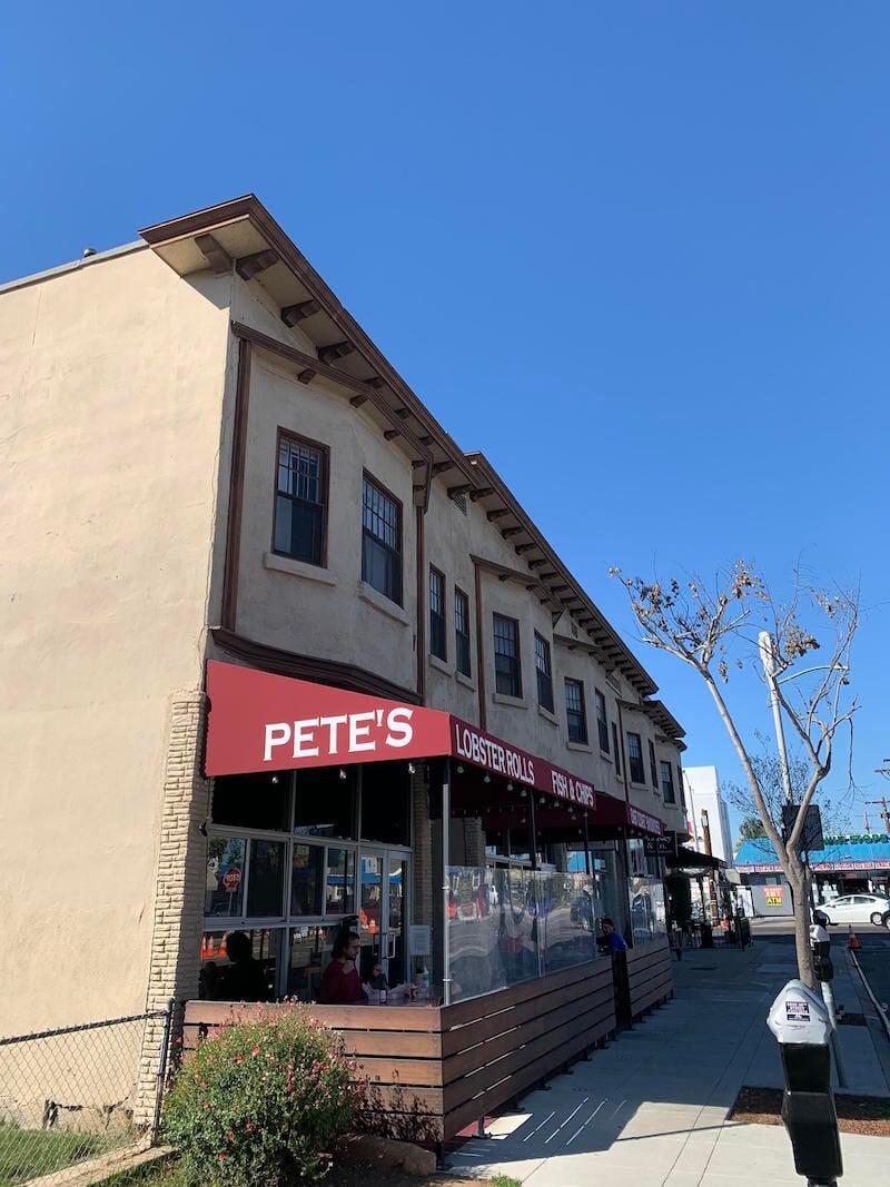 Pete's exterior
