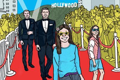A Family Afar: A Taste of True Hollywood