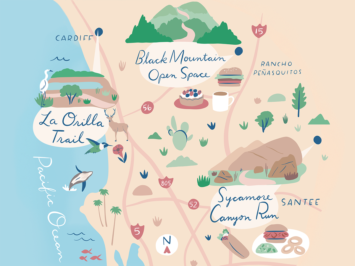 Scenic Trails / Illustration