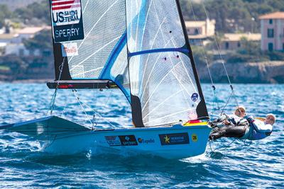 Two Local Sailors Get over a Crash in Order to Compete in Rio