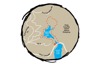 Trail of the Month: Upper Otay Reservoir