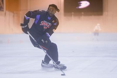 On the Job with Hockey Player Jordan Samuels-Thomas
