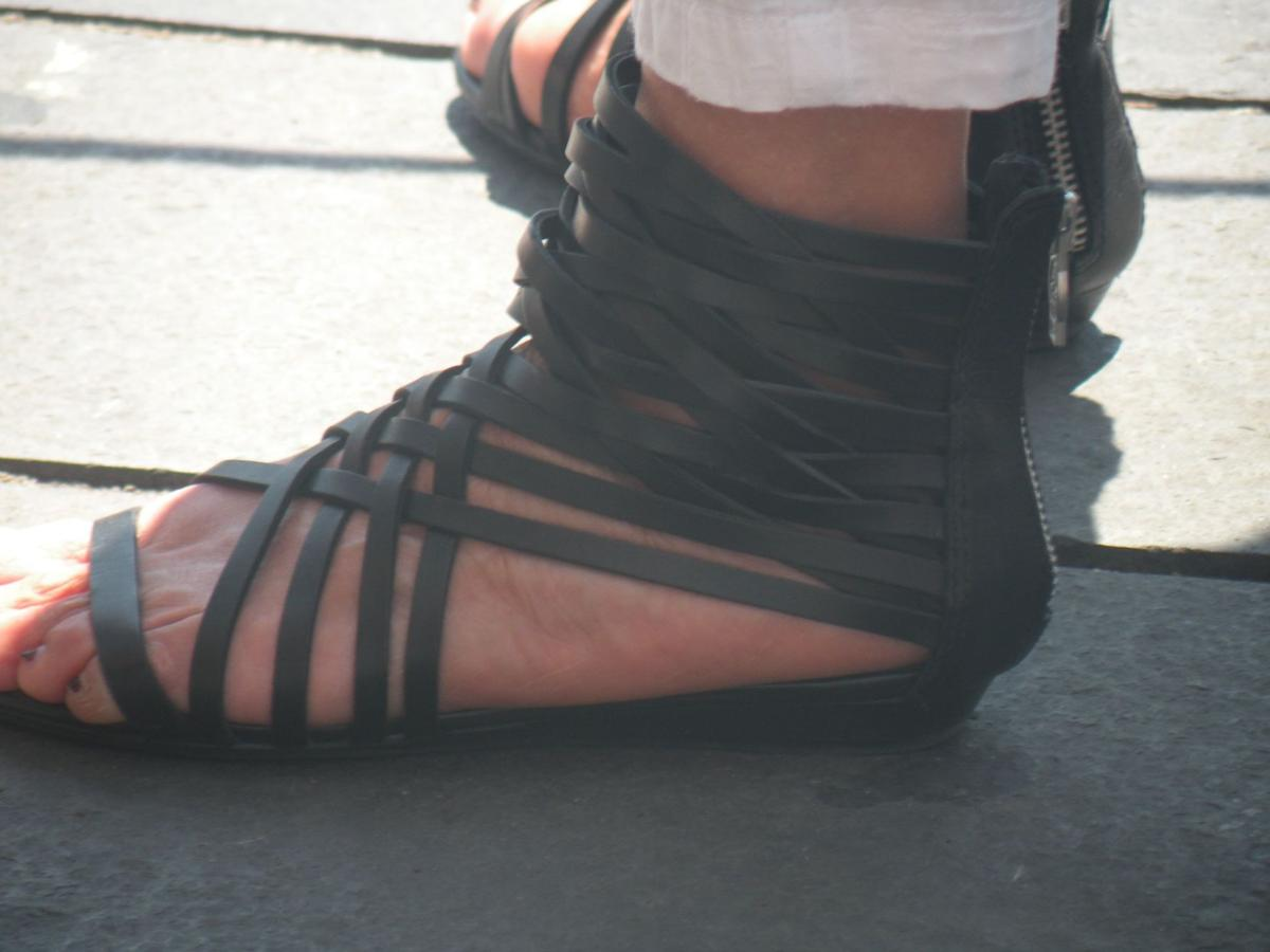 Street Style: Gladiator Sandals