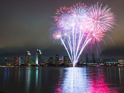 San Diego Fireworks / Big Bay Boom